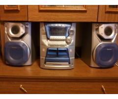 Продам музыкальный центр  PANASONIC stereo system SA-AK 22