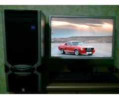 Игровой! 4-ядерный Q6600 - monitor 22d Fujitsu Siemens Продам!