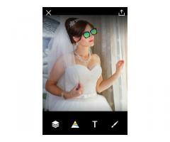 Продаётся свадебное платья